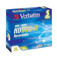 5x HD DVD-R DL 30GB (1x) JC